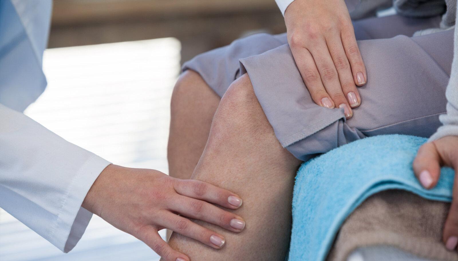Valutab kuunarnuki liiget Kapslid liigeste artroosi eest