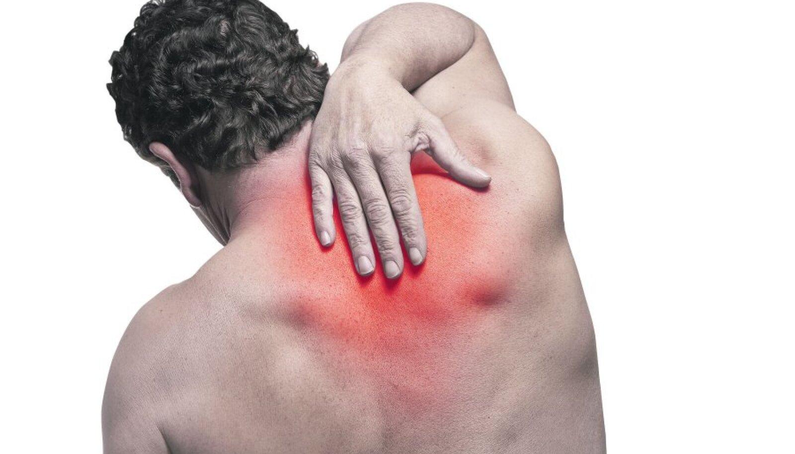 Seene salvi liigestele Vedeliku kogunemine liigese parast vigastust
