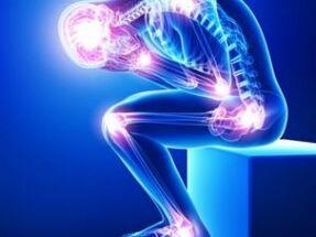 Vitamiinide valulikud uhendused Valu seljatoetuse seljaosas